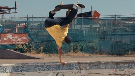 The feature film will premiere at the skatepark on October 10 - and show there for one night only. P