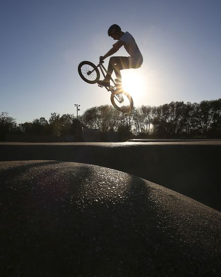 Rom skatepark in Hornchurch dates back to the 1970s. Picture: Philip Toscano/PA