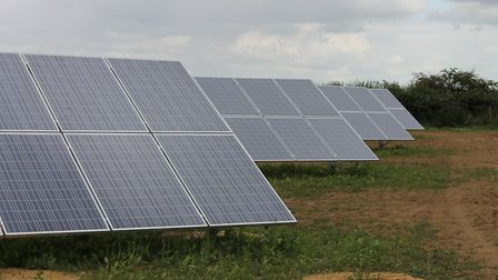 A solar panel farm has been proposed for land near Somersham (file photo) Picture: CONTRIBUTED