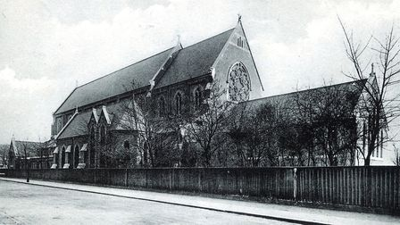 St Antony of Padua church in the 1880s. Picture: Brentwood Diocesan Archives