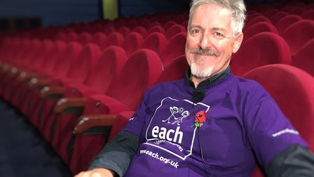 Griff Rhys Jones says he has 'never been so moved' as when he visited The Treehouse hospice in Ipswi
