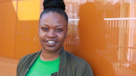 Tamecka Lumsden is bringing her experience to Northwick Park Hospital to help young people. Picture: