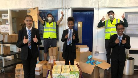 Haringey Giving is supporting local schools and food banks through the pandemic. Picture: Haringey Giving