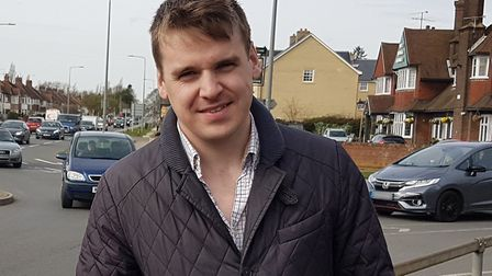 Ipswich MP Tom Hunt has explained why he believes a 'circuit breaker' lockdown wouldn't be right in Suffolk. Picture: PAUL...