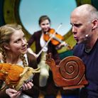 Tall Stories' production of The Snail and the Whale. Picture: Tall Stories