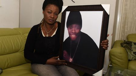 Olasunbo Shokunbi is still waiting for answers 10 years after her son Samuel Adelagun was shot dead