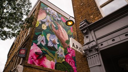 Artists Hixxie and Zadok have created a new mural in Upper Street