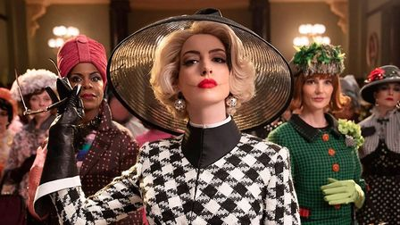 A still from The Witches starring Anne Hathaway