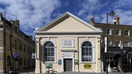 Heritage At Risk 2020.Unitarian Church, 39 Newington Green. Picture: Chris Redgrave
