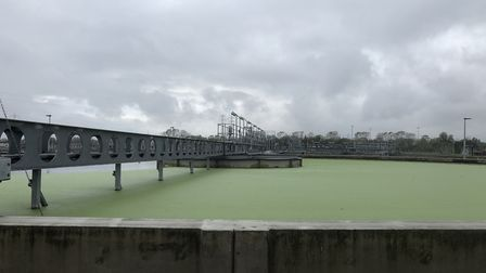 Wastewater at the Beckton Sewage Treatment Works is included in the testing. Picture: Environment Ag