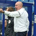 Queens Park Rangers manager Mark Warburton during the Sky Bet Championship match at The Kiyan Prince
