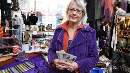 Adele Salem, owner of Four-and-Twenty Blackbirds in Pierrepoint Parade, Camden Passage. Picture: Polly Hancock