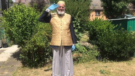 Dabirul Choudhury has raised more than £200k for over 50 countries across the world including the UK