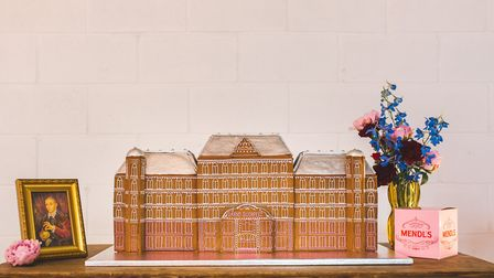 The Grand Budapest Hotel by Maid of Gingerbread. Picture: Kirsty Mackenzie