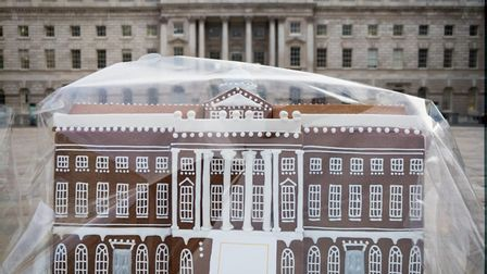 The south wing of Somerset House by Maid of Gingerbread. Picture: Ben Broomfield