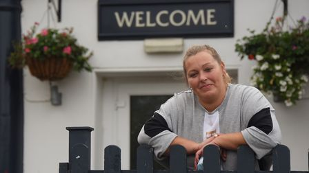 Penny Youngs-Debnam, landlady of the Kingfisher pub in Ipswich, where a new Meet Up Mondays event is