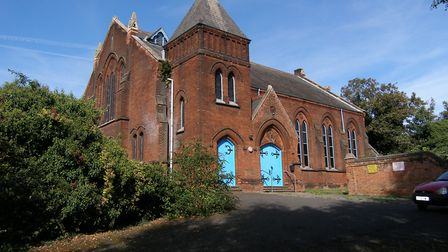 St Clements Congregational Church in Ipswich is up for sale Picture: BEANE WASS AND BOX