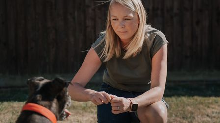 Leanne Milburn-Turner has launched The Ipswich Dog Trainer after being made redundant by easyJet. Picture: BIG FISH...