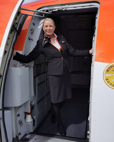 Leanne Milburn-Turner worked as a cabin manager for easyJet for more than 14 years and was made redundant in August.