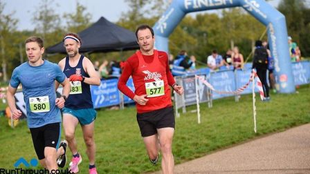 East London Runners in action on the weekend (Pic: Paul Quinton)
