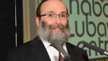 Rabbi Aryeh Sufrin ended a busy spiritual month dancing.