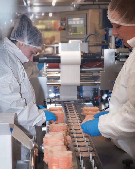 BDK wound dressings being prepared in its workshop at Levington Picture: RUTH LEACH