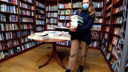 Daunt bookshop in South End Green is a sought-after spot for any book-lover. Picture: Polly Hancock