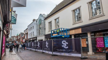 Fraser Group, which owns Sports Direct, is taking over the former BHS building in Ipswich Picture: SARAH LUCY BROWN