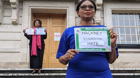Cllr Sade Etti says Hackney is no place for hate. Picture: Hackney Council.