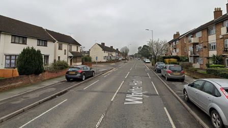 Police were called to reports of a drive-by shooting in White Hart Lane, Collier Row this morning at