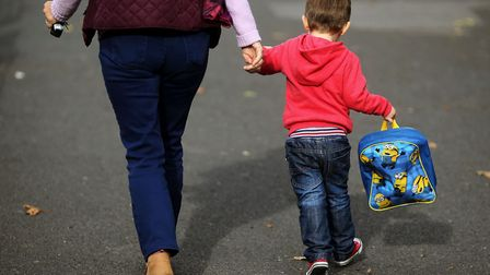 The latest child poverty statistics have been released. Picture: Brian Lawless/PA Images