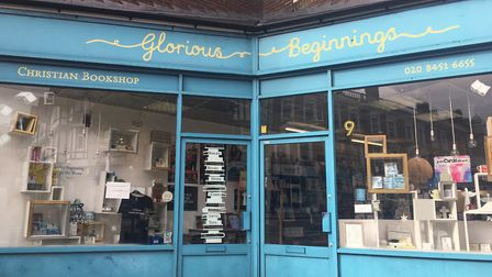 Glorious Beginnings on Willesden High Road. Picture: Nathalie Raffray