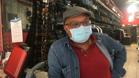 Atul Shah has been specialising in the perfect fit denim since 1978. Picture: Roy Chacko