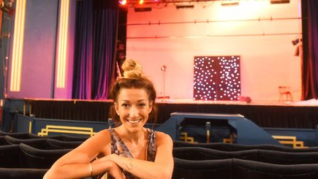 Suzie Lowe is confident that the 'show will go on' at the Spa Pavilion this Christmas and the people