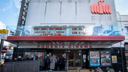 The Phoenix Cinema was due to open on Thursday. Picture: Siorna Ashby