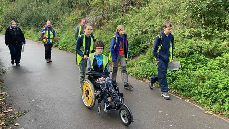 Four youngsters from the 201st Islington team took part in the Chiltern 20 Challenge Hike 2020, setting off from Finsbury...