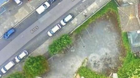 Google map image of ex-post office depot building in Manor Road, cited as an alternative site by Pro