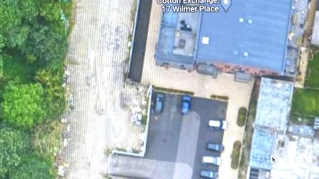 Suggested site by campaginers abehind Wilmer car park. Picture: googlemaps