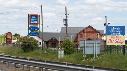 Aldi on Donald Mackintosh Way in Ipswich Picture: SARAH LUCY BROWN