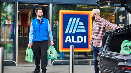 Aldi is launching a new click-and-collect service, with an Ipswich store included in the trial Picture: ALDI