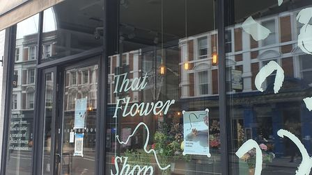 That Flower Shop at it's former home in Ace Hotel, Shoreditch High Street. The shop can now be locat
