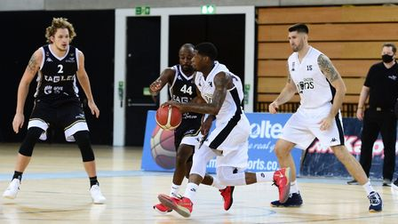 London Lions in action against Newcastle Eagles (Pic: Graham Hodges)