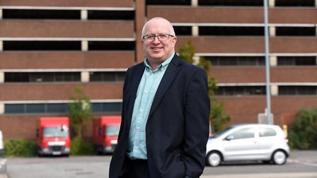 David Ellesmere, Labour leader of Ipswich Borough Council, said the revised four year budget would balance the books...