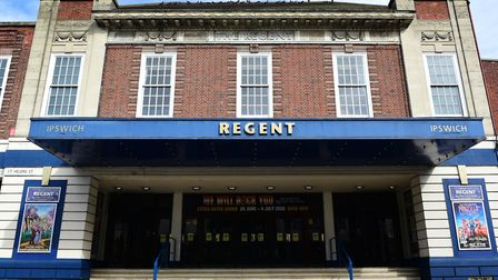 The Regent in Ipswich will no longer have a ticket office on-site. Picture: SARAH LUCY BROWN