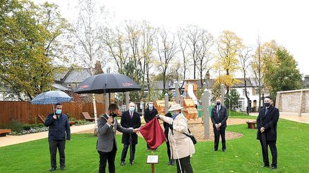 The opening of Hornsey Park. Picture: Haringey Council