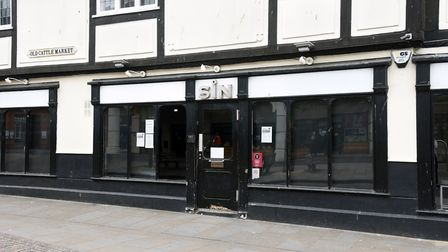 """Sin Bar in Ipswich has announced it is to """"permanently"""" close Picture: CHARLOTTE BOND"""