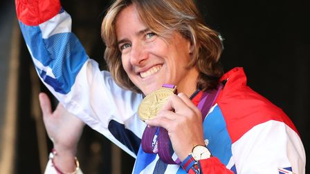 Olympic rowing champion Katherine Grainger took part in this year's Primrose Hill Lecture series to