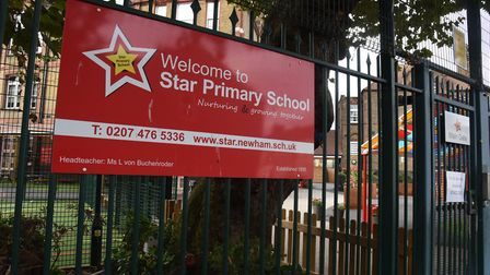 Star Primary School in Canning Town. Picture: Ken Mears