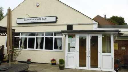 Bardswell Social Club. Picture: Sylvia Kent