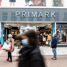 Primark was a popular choice with shoppers seeing queues all the way up the high street. Picture: SARAH LUCY BROWN